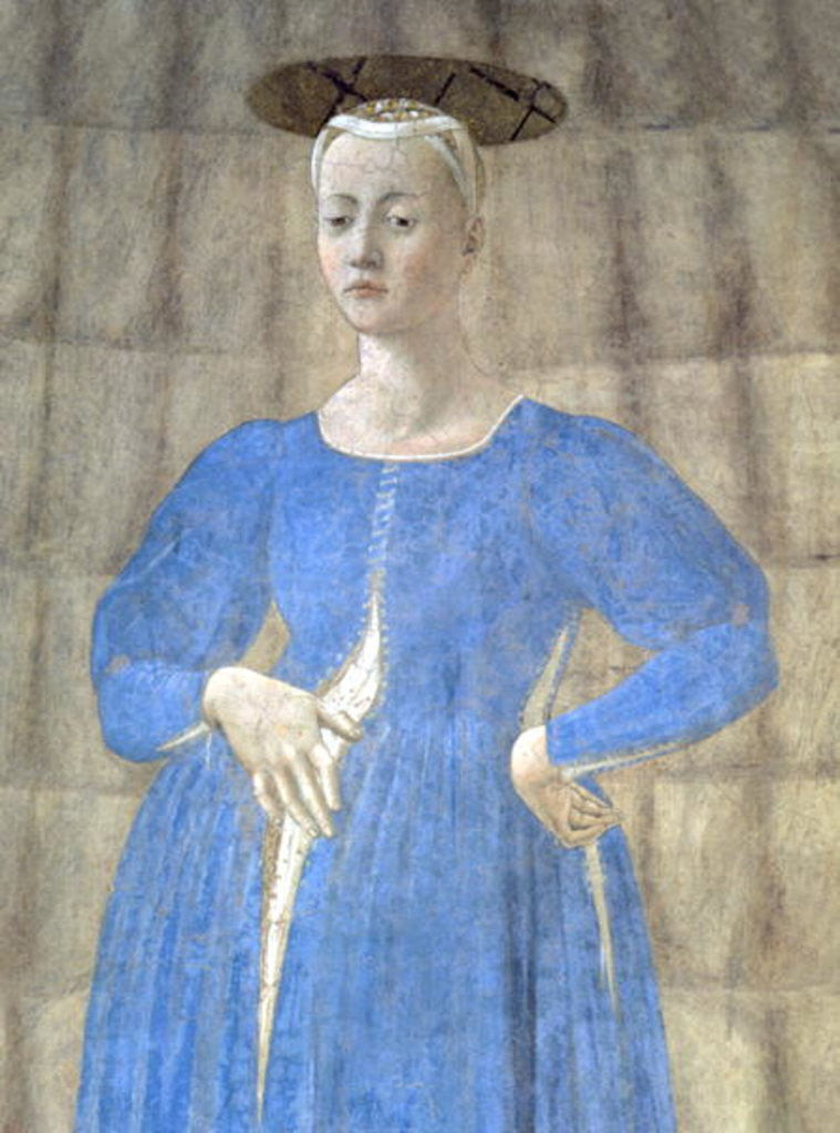 Detail of The Madonna del Parto by Piero della