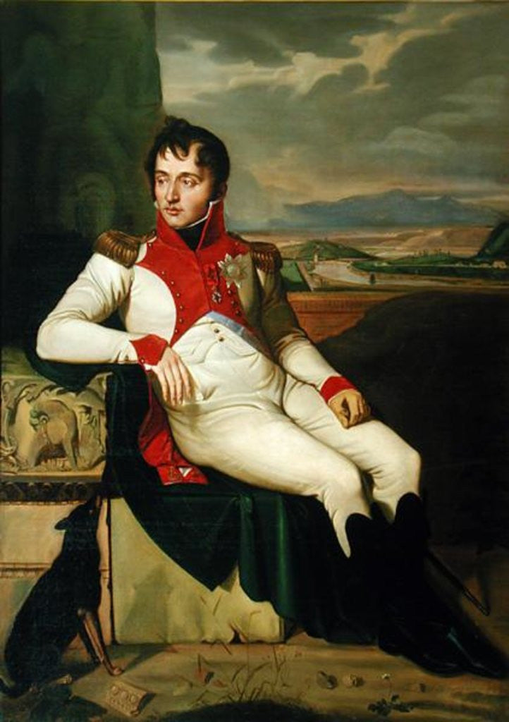 Detail of Louis Bonaparte by Jean Baptiste Joseph Wicar