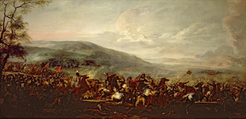 Detail of Battle between the Hungarians and Turkish by Jacques Courtois