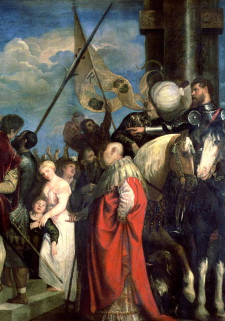 Detail of Ecce Homo by Titian
