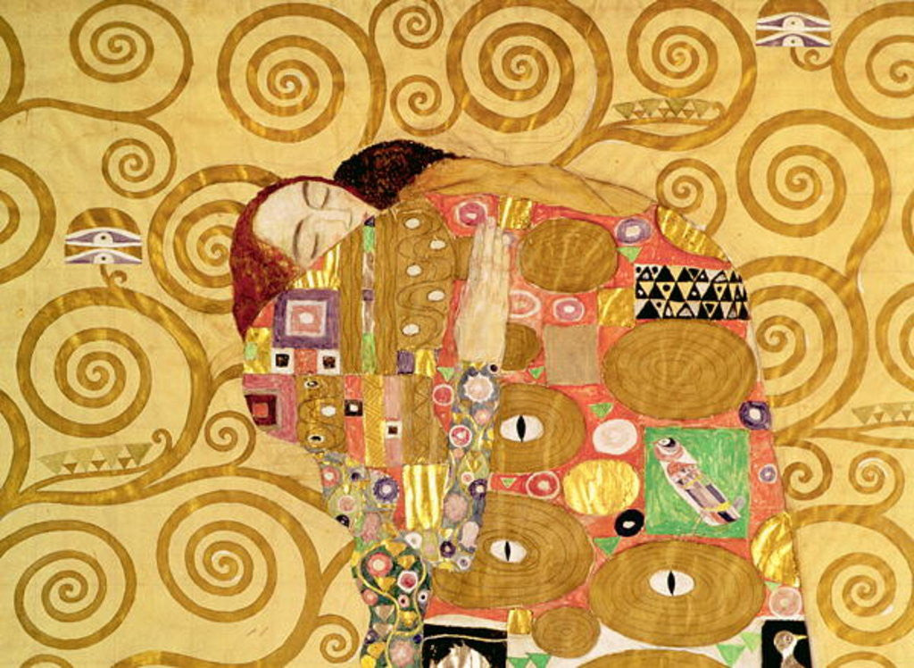 Detail of Fulfilment by Gustav Klimt