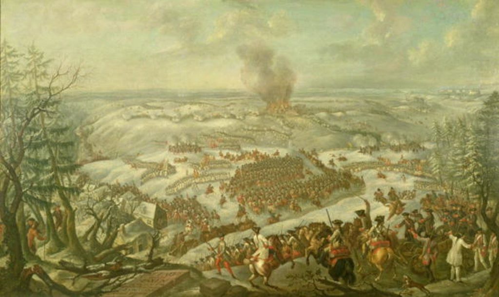 Detail of The Battle of Maxen by Franz Paul Findenigg