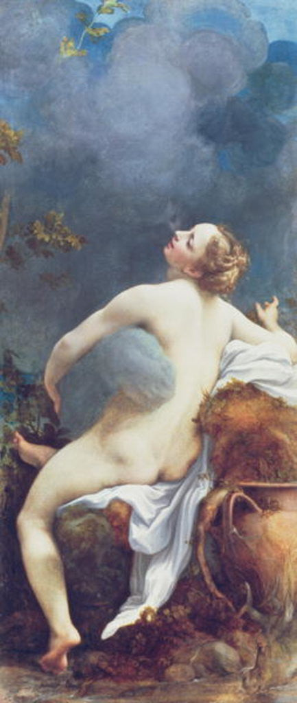 Detail of Jupiter and Io by Correggio