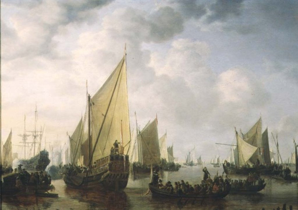 Naval Review by Simon Jacobsz. Vlieger