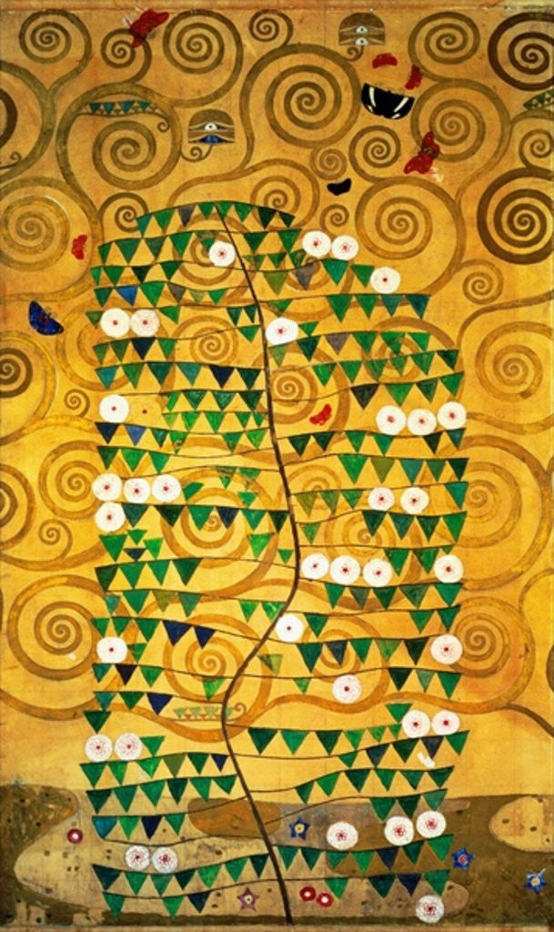 Detail of Tree of Life (Stoclet Frieze) by Gustav Klimt