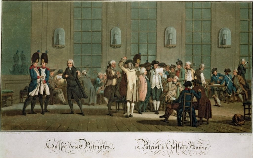 A Patriot's Coffee House (1st edition print)