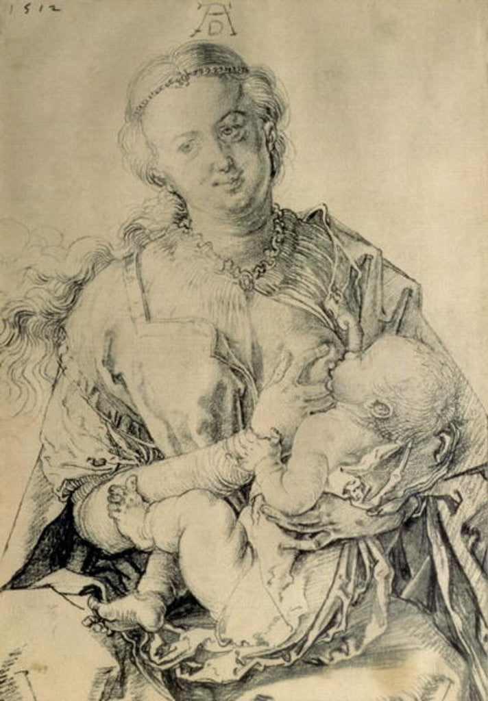 Virgin Mary suckling the Christ Child