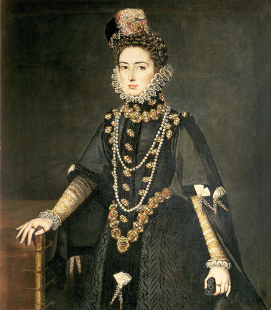 Detail of Infanta Catalina Micaela by Sofonisba Anguissola