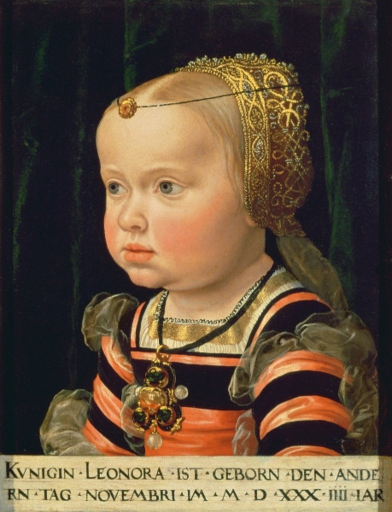 Archduchess Eleanor of Mantua, aged two