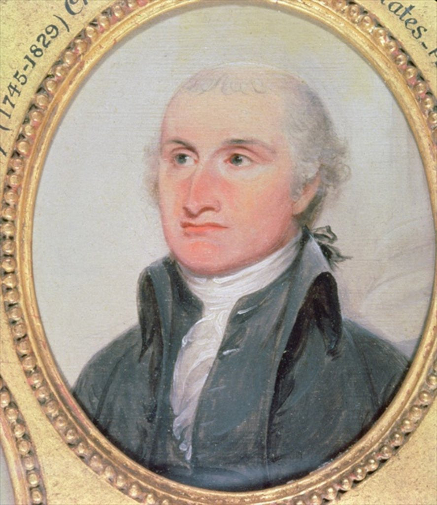 Detail of Portrait of John Jay by American School