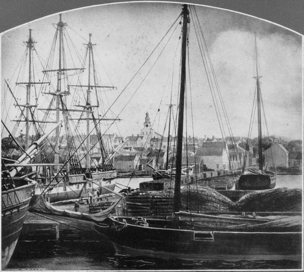 Detail of Whaling Port, New Bedford by American Photographer