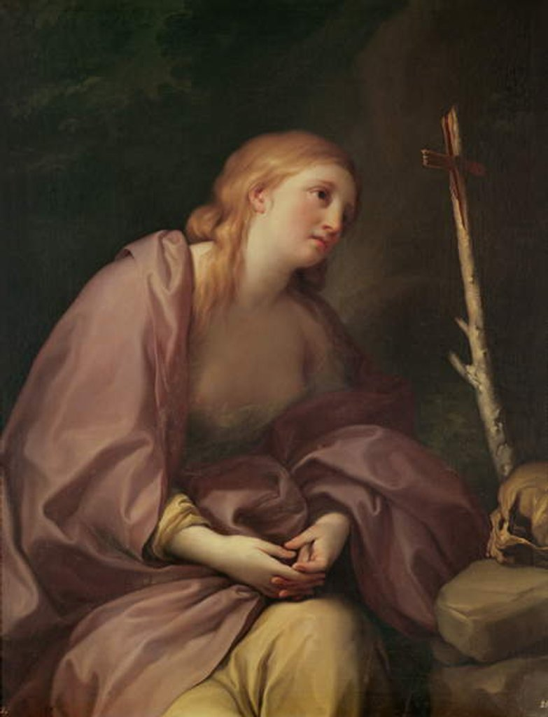 Detail of Penitent Magdalene, c.1765 by Anton Raphael Mengs