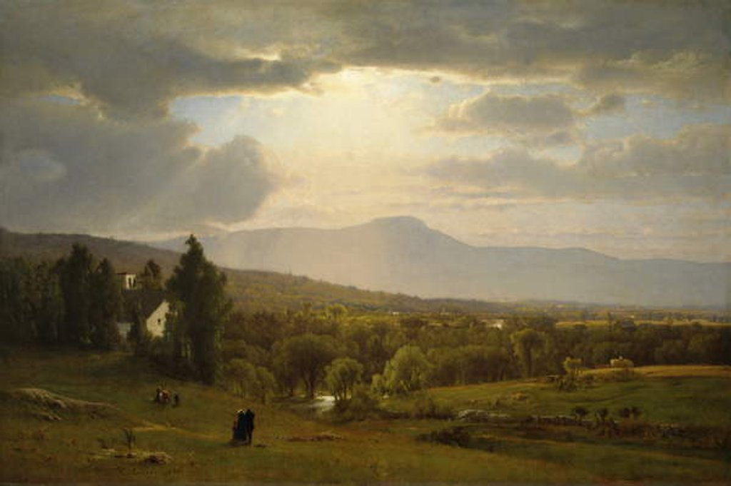 Detail of Catskill Mountains, 1870 by George Snr. Inness