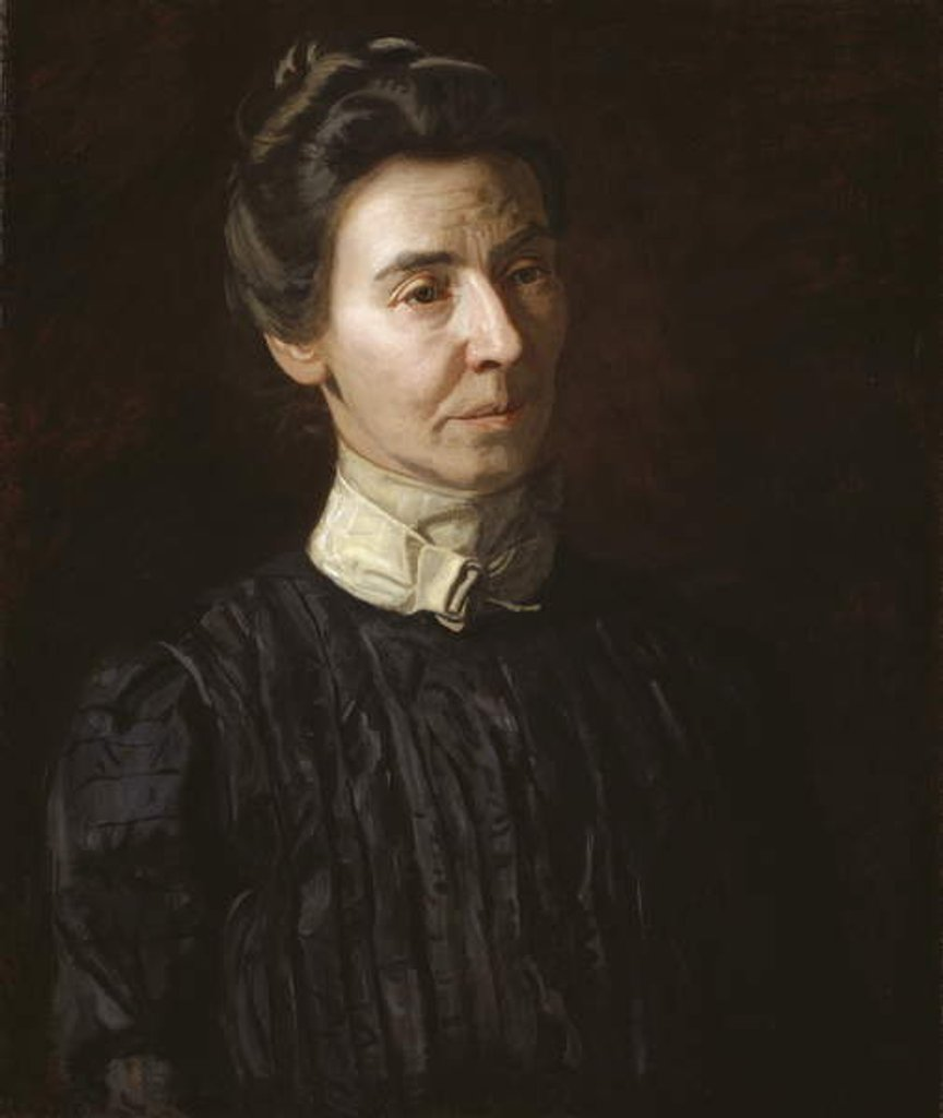 Detail of Portrait of Mary Adeline Williams, 1899 by Thomas Cowperthwait Eakins