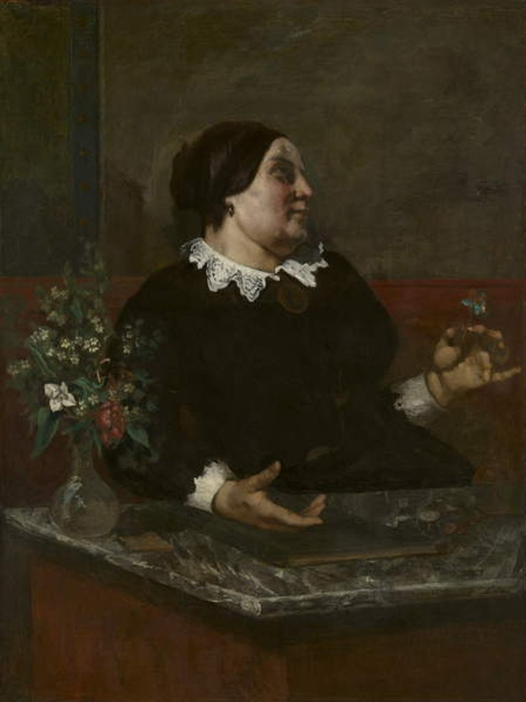 Detail of Mère Grégoire, 1855 and 1857-59 by Gustave Courbet