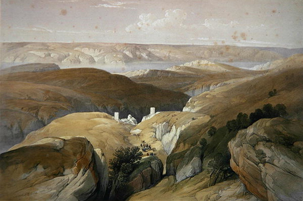 Convent of St. Saba, April by David Roberts