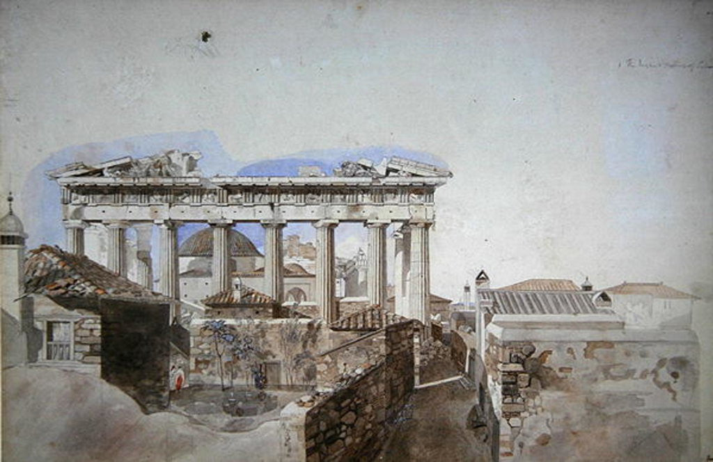 Detail of Ancient Greece by William Pars