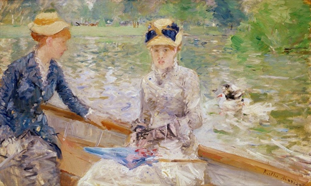 Detail of Summer's Day by Berthe Morisot