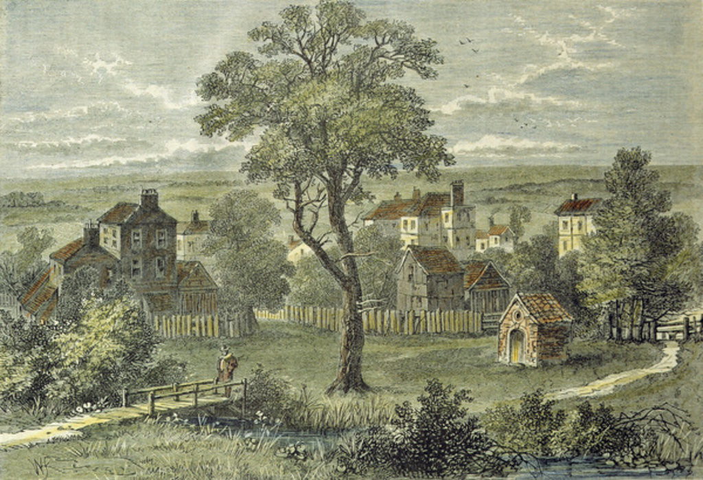 Detail of View of Marylebone by English School