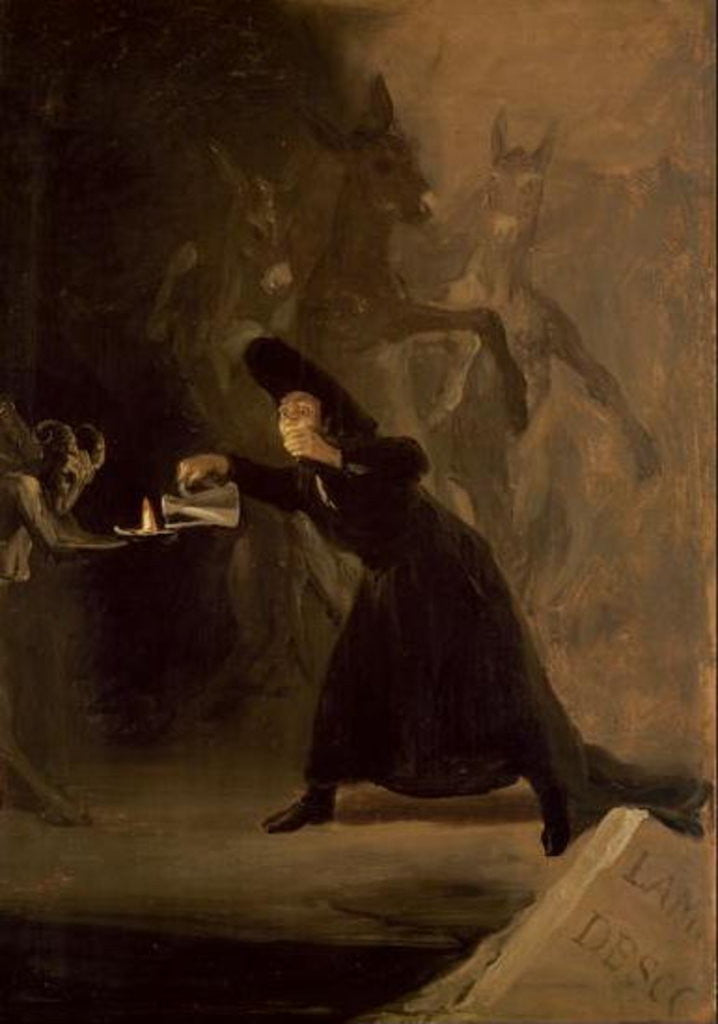 A Scene from 'El Hechizado por Fuerza' (The Forcibly Bewitched) by Francisco Jose de Goya y Lucientes
