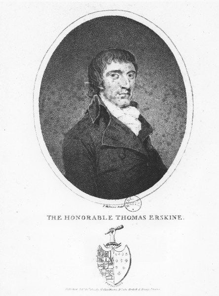 Thomas Erskine, 1st Baron Erskine by English School