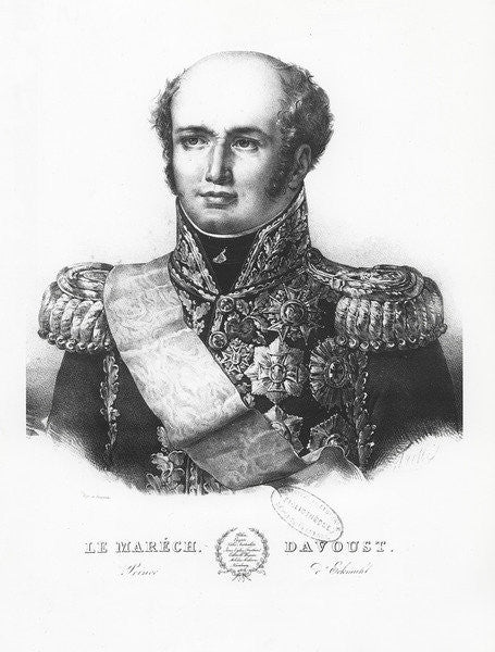 Louis Nicolas d'Avout, Duke of Auerstaedt by Louis Francois Couche
