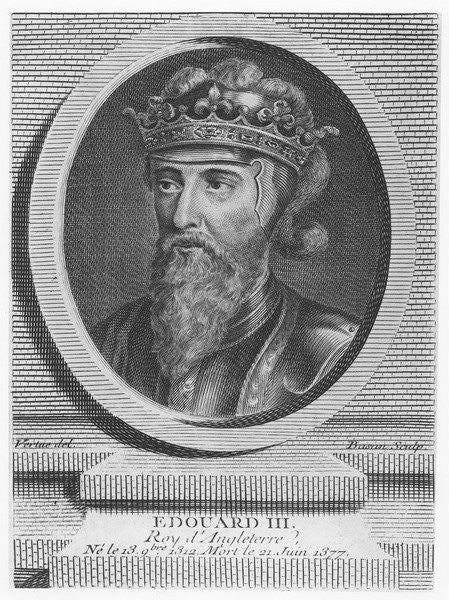 Edward III, King of England by Pierre François Basan