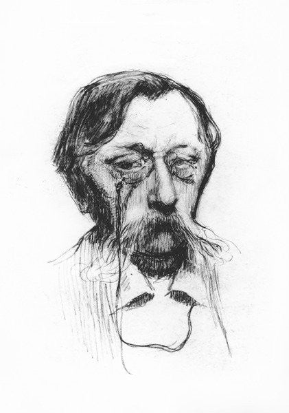 Detail of Emile Verhaeren by French School