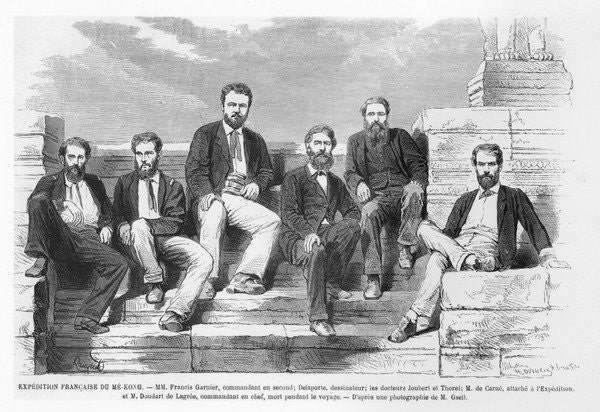 French expedition to the Mekong with Francis Garnier