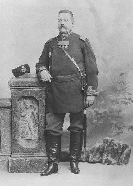 Portrait of General E. Alex de Pogojeff