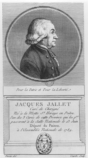 Detail of Jacques Jallet by W.N.M. Courbe