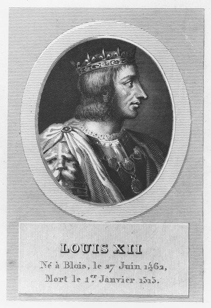 Detail of Louis XII, King of France by French School