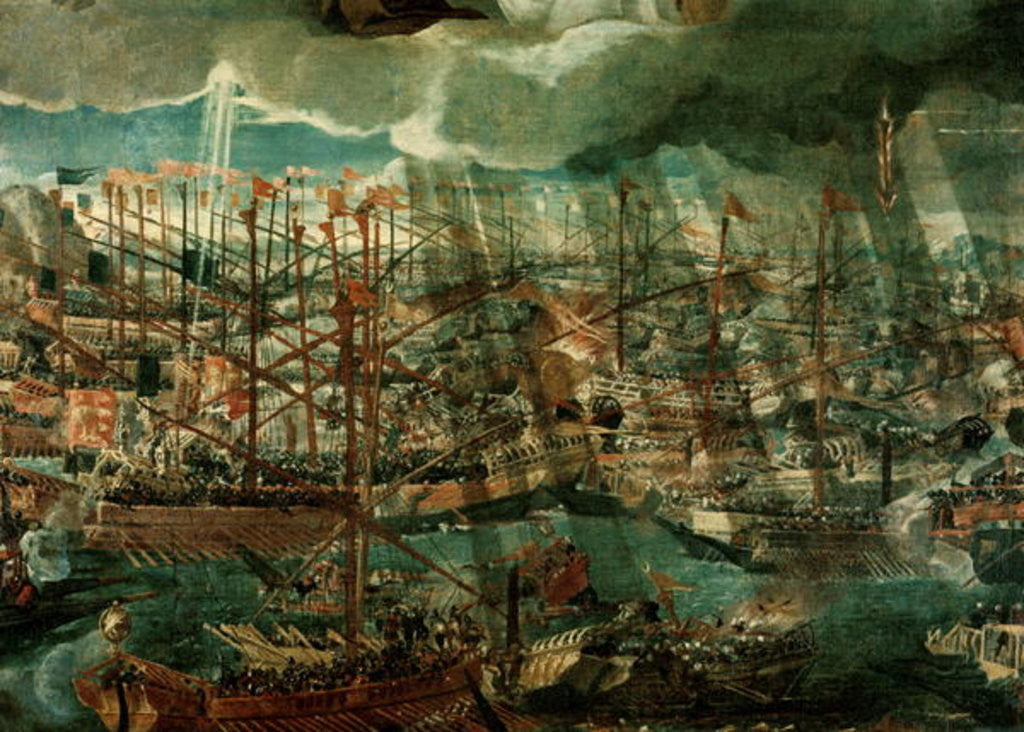 Detail of Allegory of the Battle of Lepanto by Veronese
