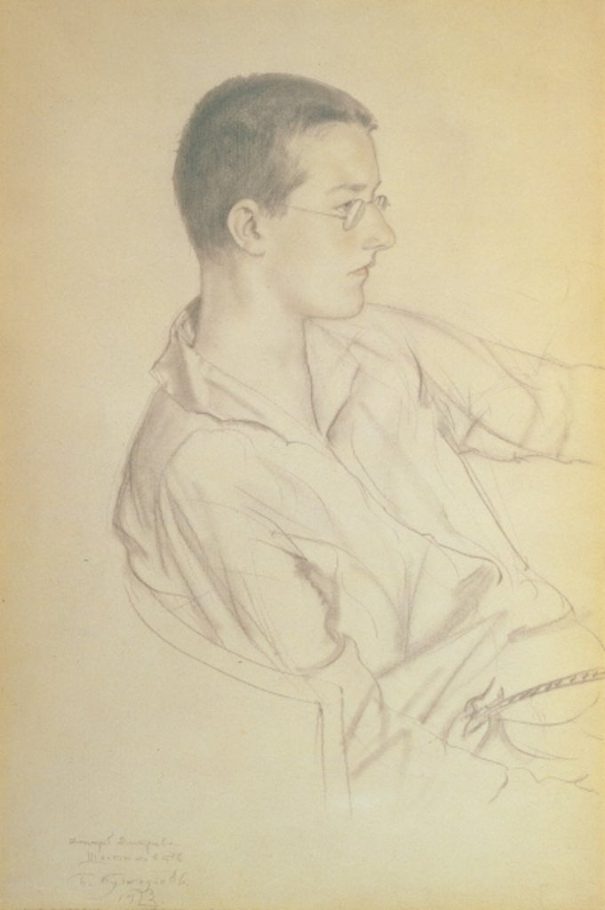 Portrait of Dmitri Dmitrievich Shostakovich