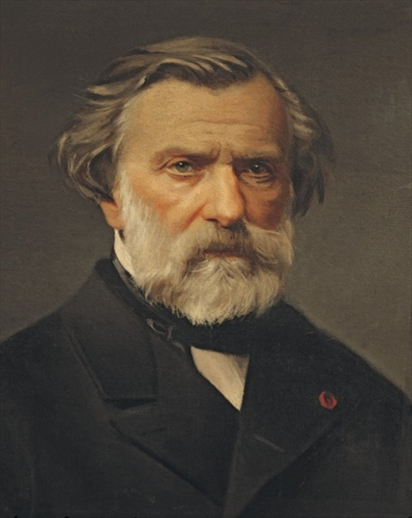 Detail of Ambroise Thomas previously thought to be Giuseppe Verdi by Italian School
