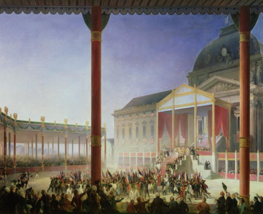 Detail of Assembly of the Champ de Mai by Francois Joseph Heim