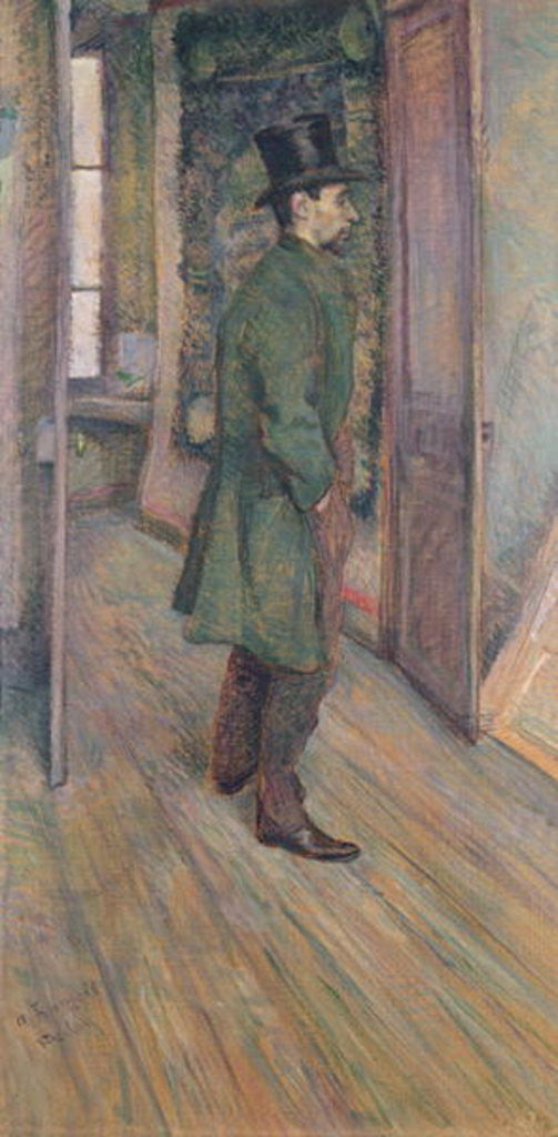 Detail of Francois Gauzy by Henri de Toulouse-Lautrec