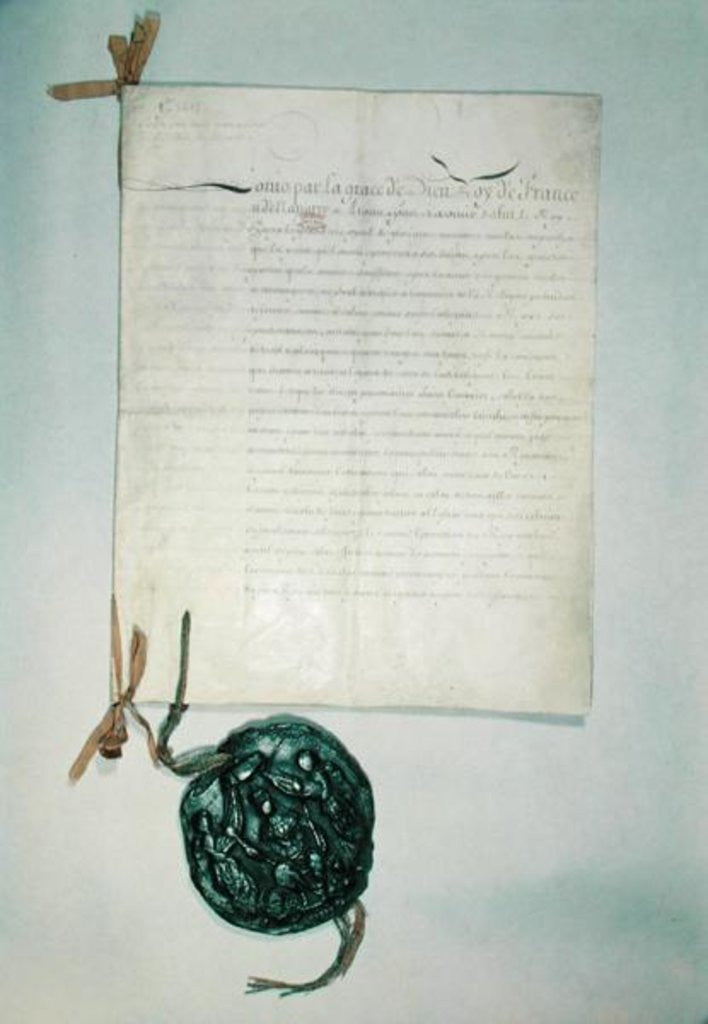 The Edict of Fontainebleau