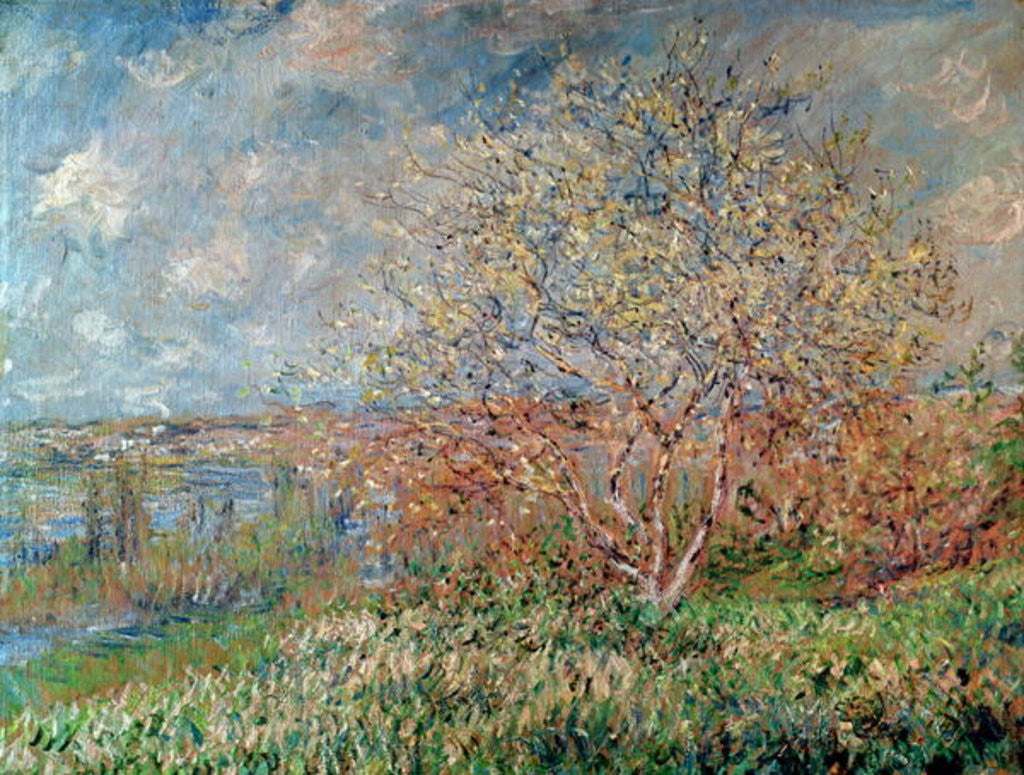 Detail of Spring by Claude Monet