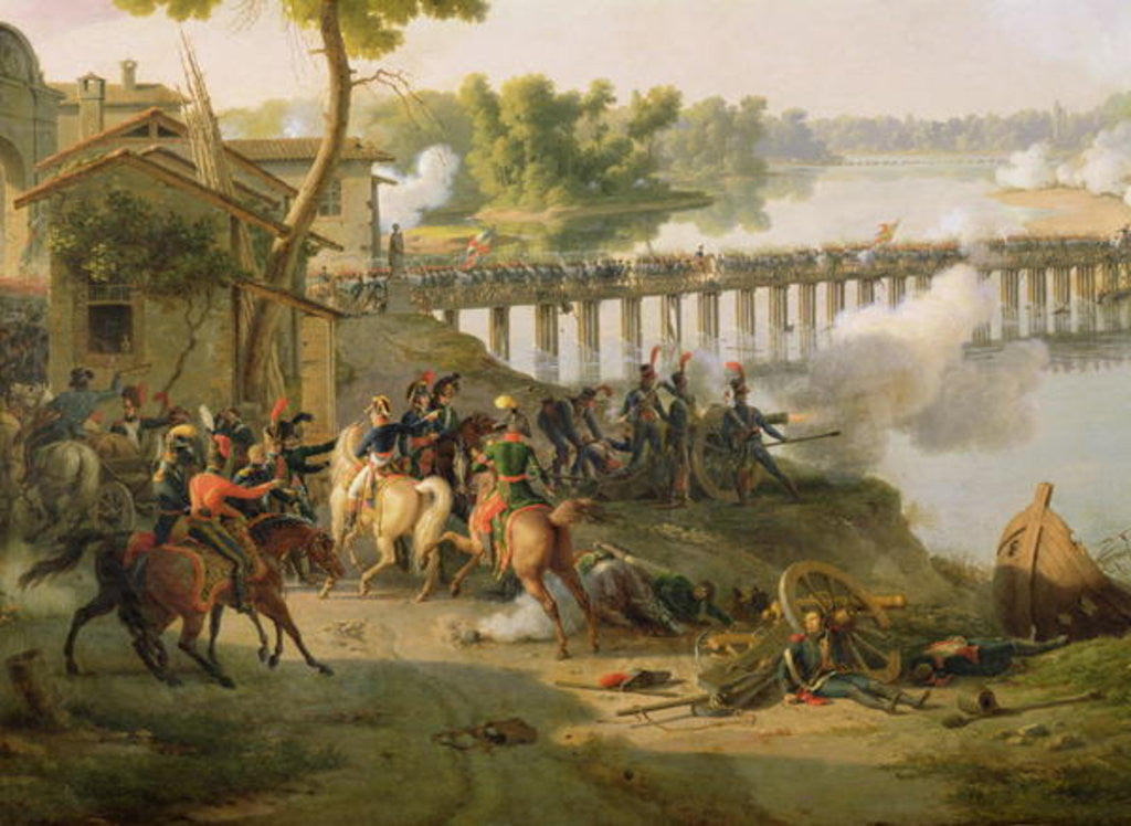Detail of The Battle of Lodi by Louis Lejeune
