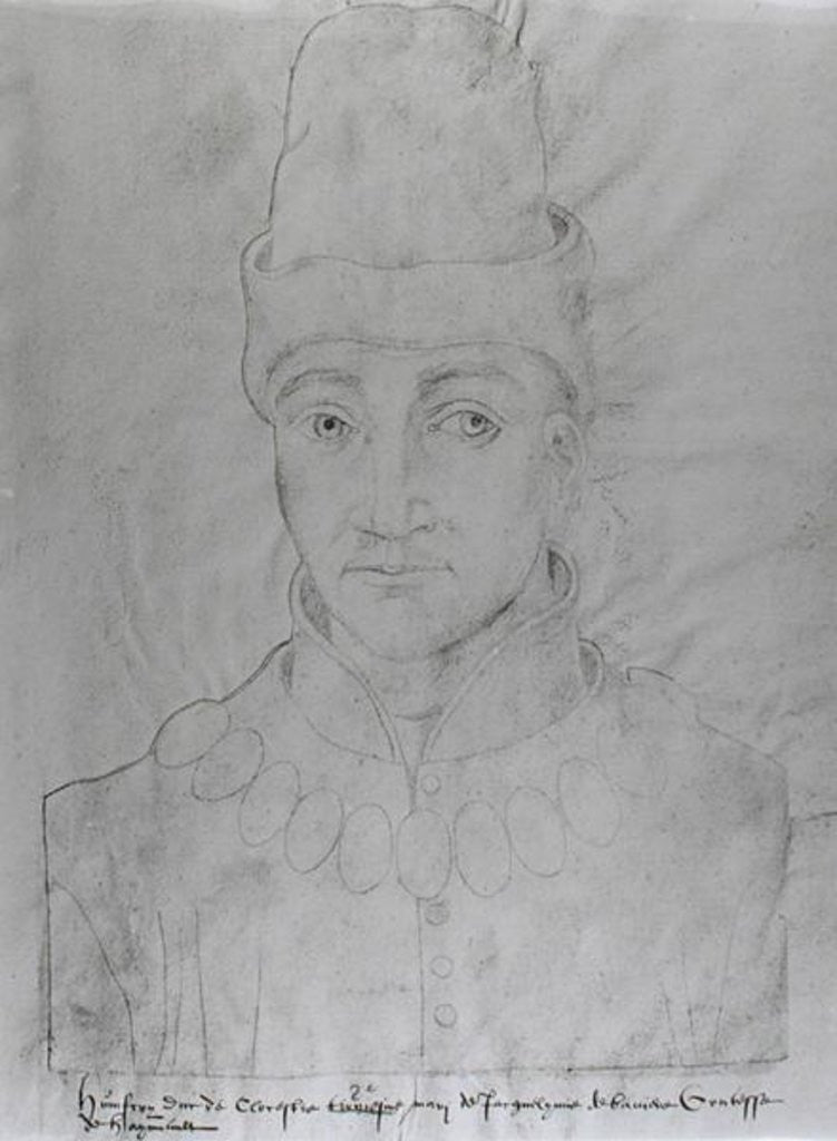 Portrait of Humphrey of England Duke of Gloucester