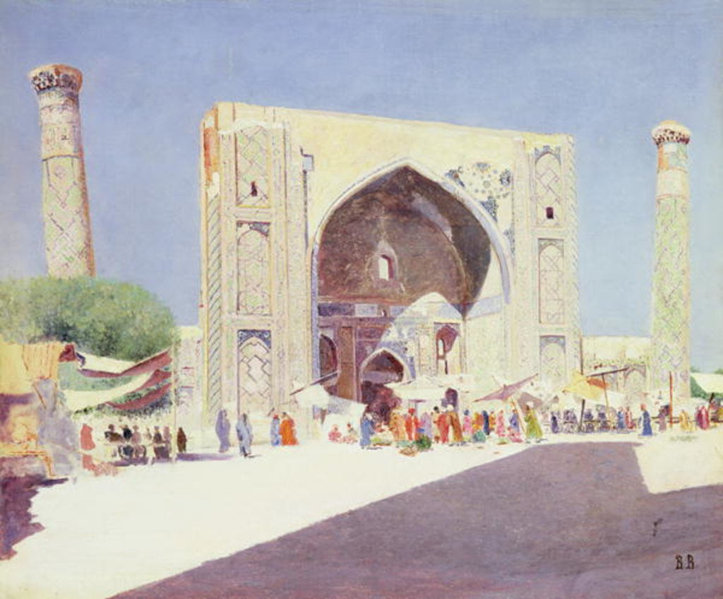 Detail of Samarkand by Vasili Vasilievich Vereshchagin