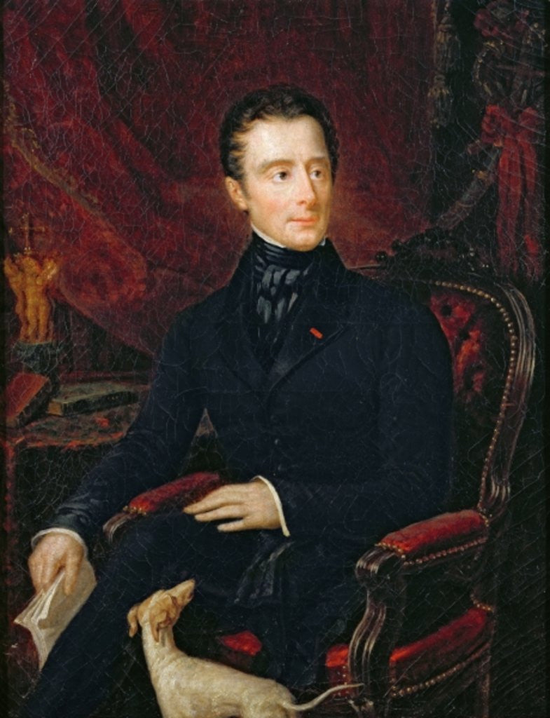 Alphonse de Lamartine by Madame de Lamartine