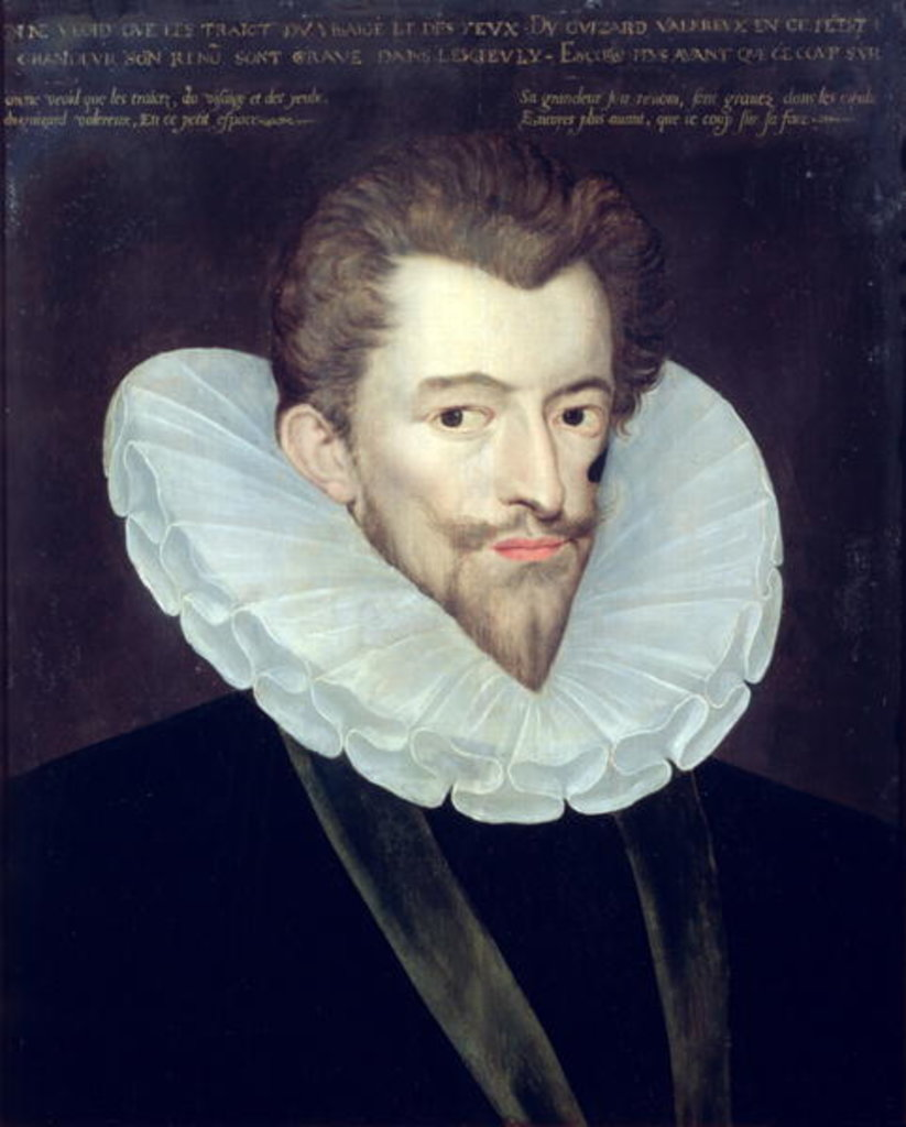 Detail of Portrait of Henri I de Lorraine, Duc de Guise, known as Le Balafre by French School