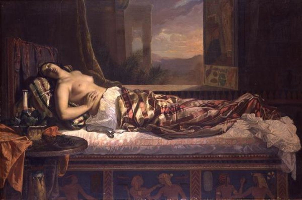 Detail of The Death of Cleopatra by German von Bohn