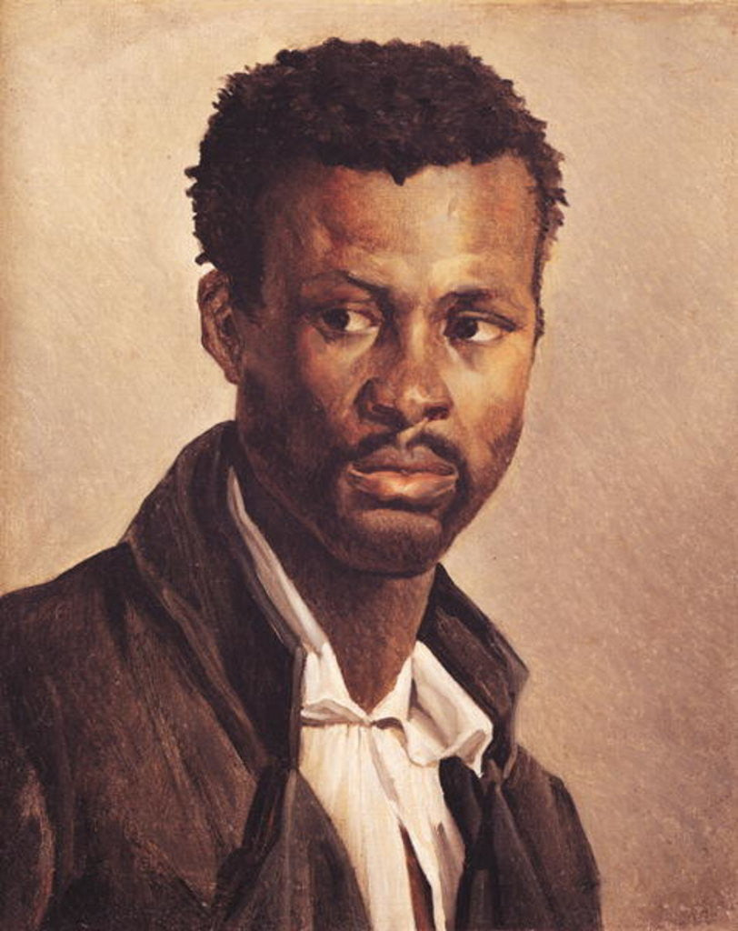 Detail of A Negro by Theodore Gericault