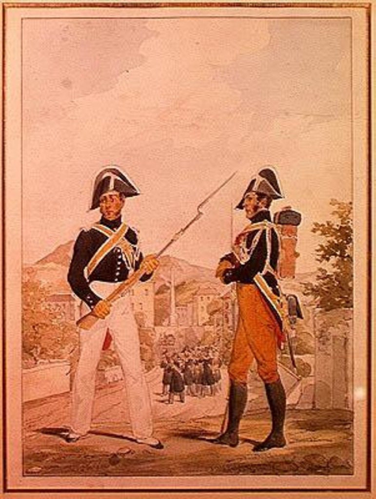 Police Officers of the Garde des Consuls in Uniform