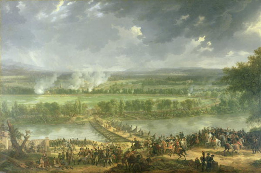 Detail of Battle of Pont d'Arcole by Baron Louis Albert Bacler d'Albe