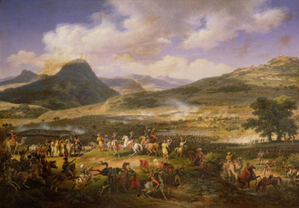 Battle of Mount Thabor by Louis Lejeune