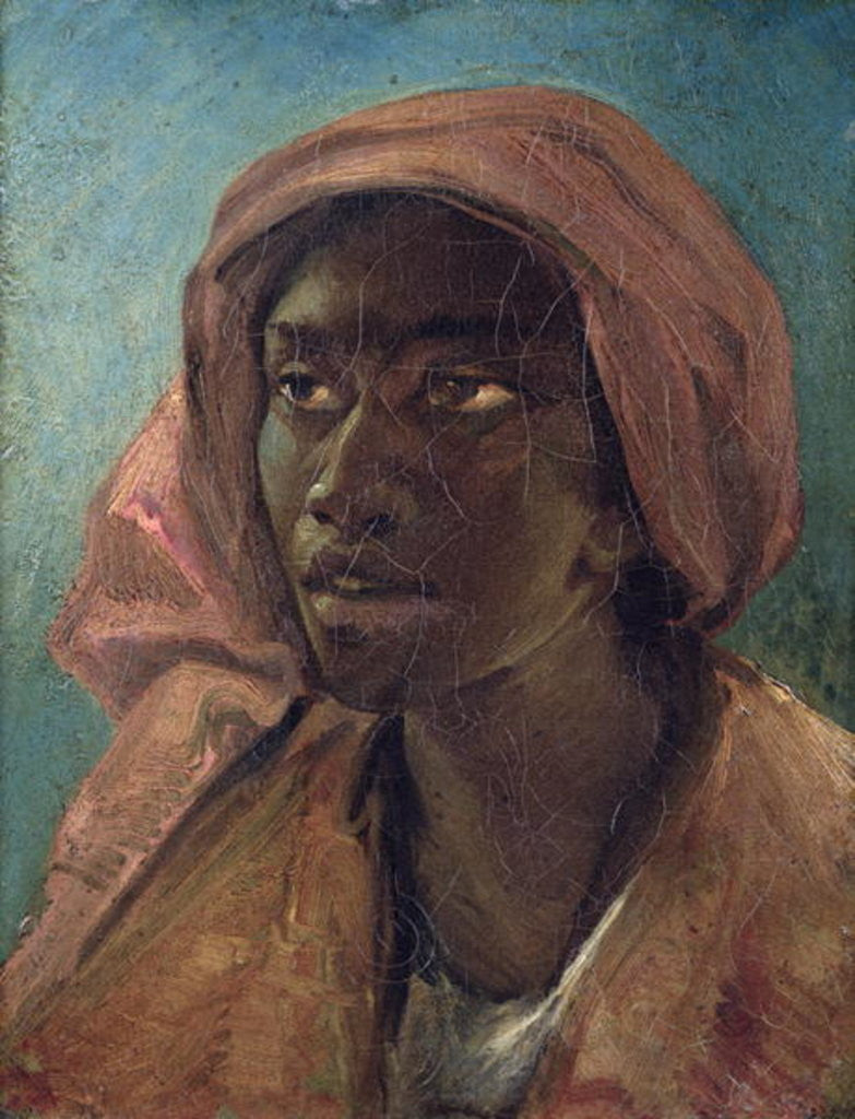 Detail of A Young Negro Woman by Theodore Gericault